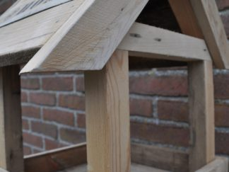 Vogelhuis hangend hout @Home