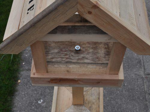Vogelhuis staand hout @Home