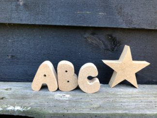 Letters MDF 5 cm