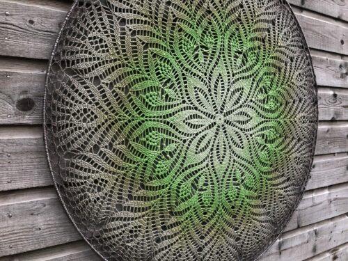 Gehaakte mandala decoratie