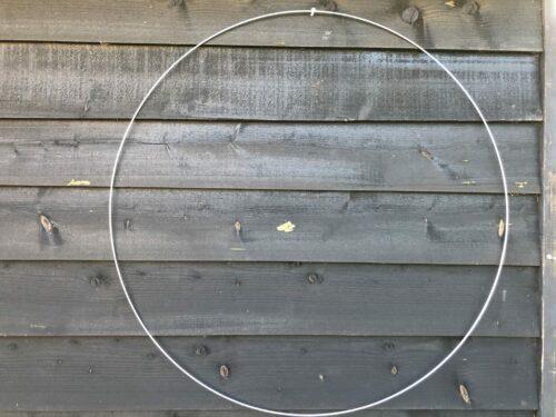 Mandala ring, metalen ring van 100 cm