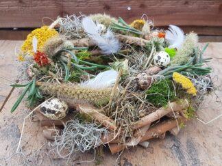 """Doe-het-zelf voorjaars/paaspakket """"krans"""" DIY voorjaarsworkshop Pasen"""