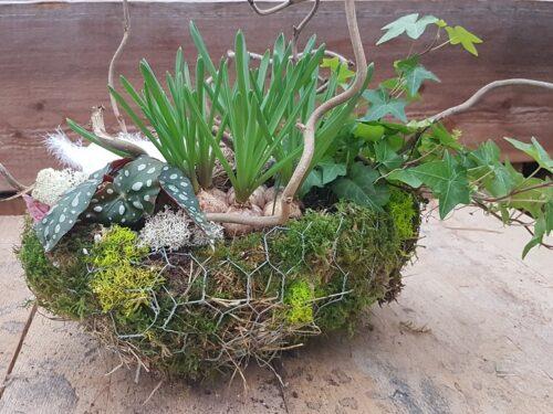 """Doe-het-zelf voorjaars/paaspakket """"gevuld ei"""" DIY voorjaarsworkshop Pasen"""